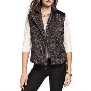 Juicy Couture leopard vest